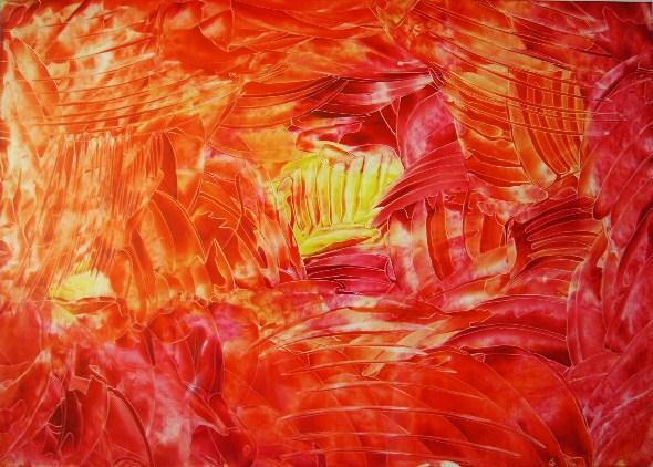 Weg zum Licht    30x42cm/40x50cm  2008