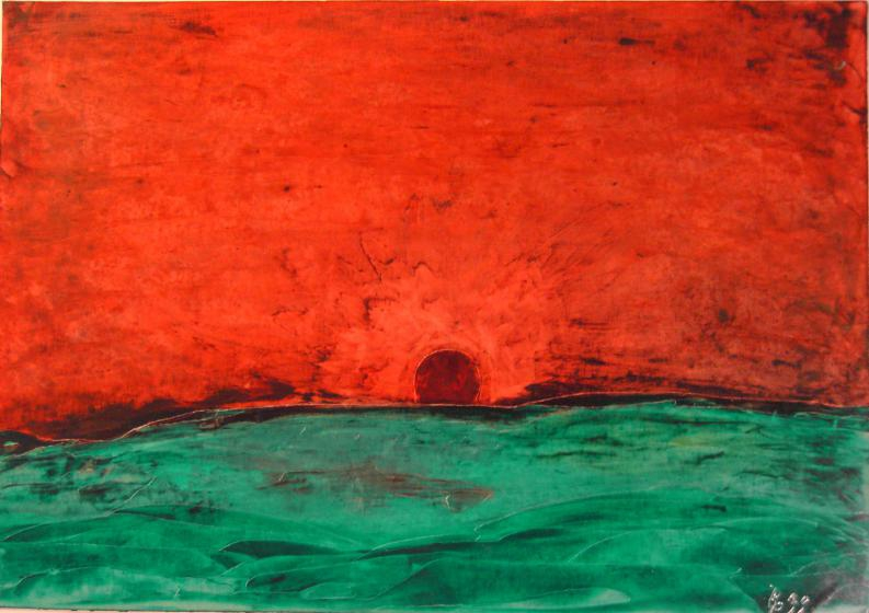 Sonnenuntergang14x20cm/21x30cm2011