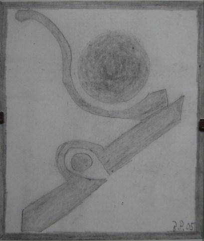 Bleistift Kleinbild 10,5x15cm 2005