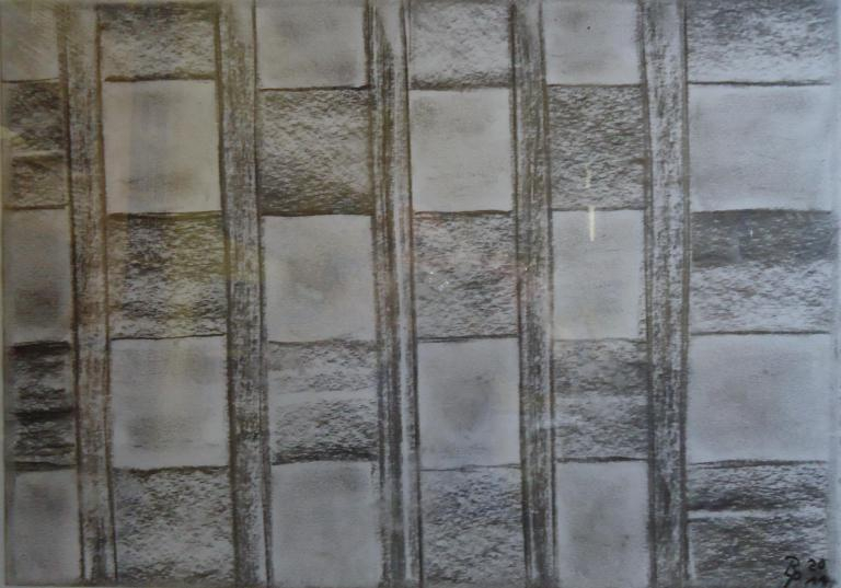 Kohlebild 3 30x41cm/40x50cm2012