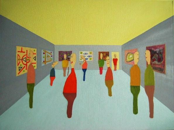 Ausstellung Oel auf Leinwand 60x80cm 2009